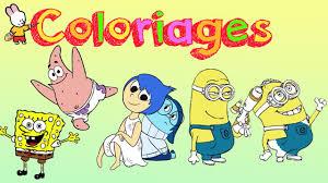Bob LEponge Vice Versa Les Minions Cahier De Coloriage 2