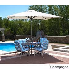 furniture white walmart patio umbrella with blue cushion seat and