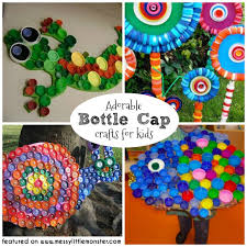 Giant Bottle Cap Crafts For Kids A Collection Of Fun Top Ideas Toddlers