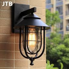 wall l outdoor ls modern porch light e27 edison light bulb