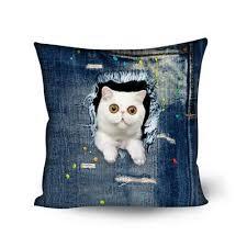 cat sofa cat shaped decorative pillows for sofa pet clever