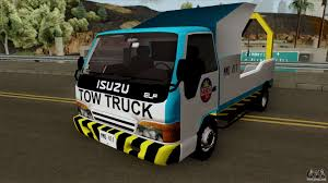 100 Gta Tow Truck Isuzu ELF Philippine Government For GTA San Andreas