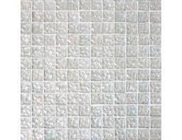 Iridescent Mosaic Tiles Uk by Carrara Brick Mosaic Bianco Qube Mosaic