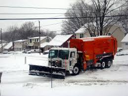 Snow Plow Garbage Truck | Sara J S | Flickr