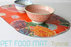 Pet Food Mat a tutorial