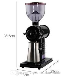 110v 220v Commercial Electric Coffee Grinder Grinding Machine Tooth Disc Bean Mini