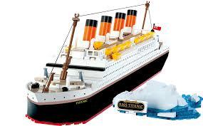 amazon com cobi rms titanic toys games