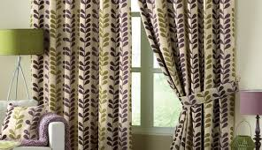Green Striped Curtain Panels by Curtains Infatuate Purple Cream Striped Curtains Dazzle Purple