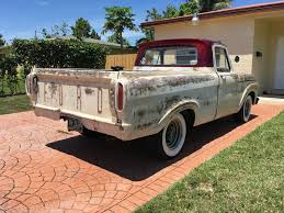 1963 Ford F 100 Unibody Patina Truck For Sale