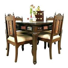 Small Table With 4 Chairs And Dining Round