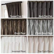 top tack pleat pleat styles readymade drapes readymade curtains