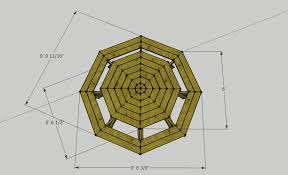 octagonal picnic table residential design and fabrication