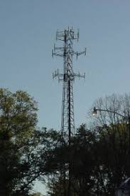 Cell phone towers e in many shapes and sizes