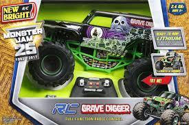 100 Tmnt Monster Truck Newbright 110 Jam Grave Digger Chrome Toymate
