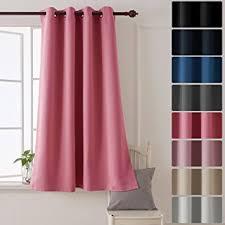 rideaux pour chambre enfant deconovo rideau uni isolant thermique rideau occultant à oeillet