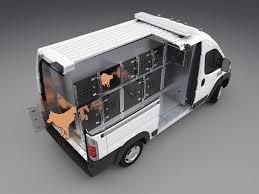 AT 102V Animal Transport Van Conversion
