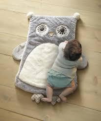 Cute Owl Car Floor Mats by Levtex Baby Night Owl Playmat Gray Toys