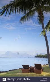 le meridien tahiti hotel pape ete tahiti polynesia stock