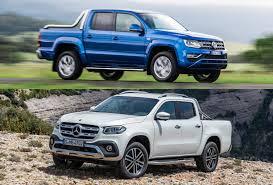 100 Pick Up Truck Comparison 2018 MercedesBenz XClass Vs 2018 Volkswagen Amarok Prereview