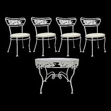 Vintage Woodard Patio Chairs by 1326 Best Vintage Wrought Iron Patio Furniture Images On Pinterest