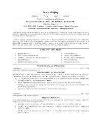 Sample Resume For Executive Assistant To Ceo Elegant Director Level Examples Manager Samples