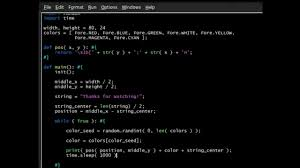 Python Colorama Finale