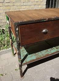 vintage industrial werkbank kommode sideboard schrank