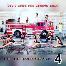 Hit The Floor Ahsha And Derek Scenes by La Devil Girls La Devilgirls Twitter