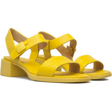 camper kobo yellow sandals women k200326 001 style goals for
