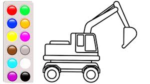 100 Construction Truck Coloring Pages Small Excavator Coloring Pages Construction Truck Coloring