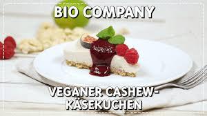 veganer cashew käsekuchen