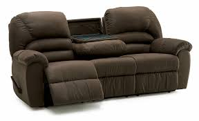 Sofa City Fort Smith Ar Hours by Palliser Taurus Casual Reclining Sofa With Center Drop Down Table