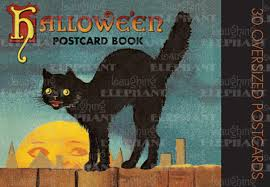 Halloween Picture Books Online by Halloween Postcard Book 9781883211783 Amazon Com Books
