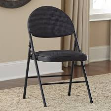 Cosco Folding Chairs Canada by Cosco Fabric Seat Folding Chairs Set Of 4 Free Shipping Today