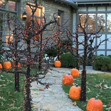 Halloween Pathway Lights Stakes by Best 25 Outdoor Halloween Decorations Ideas On Pinterest Diy