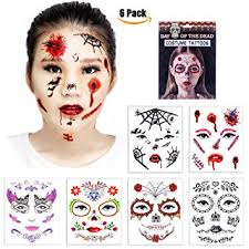 Amazon Temporary Face Tattoos