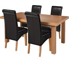 Table And Chairs Argos Buy Collection Wickham Extendable 4 Black