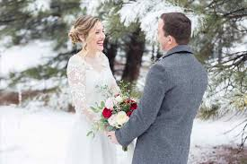 What To Wear A Cold Winter Wedding