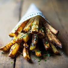 This Baked Garlic Parmesan Fries With Aoili Recipe Is Featured In The Potatoes Sweet Feed Along Many More