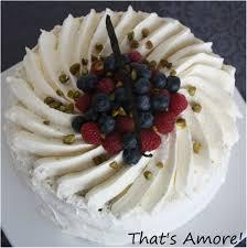 dessert avec creme fouettee gâteau à la chantilly et fruits rouges that s