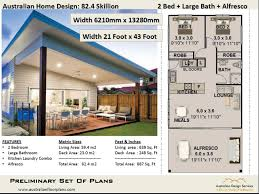 100 3 Bedroom Granny Flat 2 Bed Small Tiny HomeLiving Area 594 M2 69 Sq Foot 2 Skillion Roof DesignCheapUnder 1200 Sq Foot House Plan
