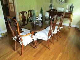 Cushions For Dining Room Chairs Chair Back With Ties Seat Pads Set