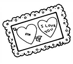 Free Printable Coloring Valentines Day Cards