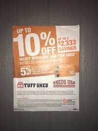 Tuff Shed Home Depot Display by Marti Littell On Twitter
