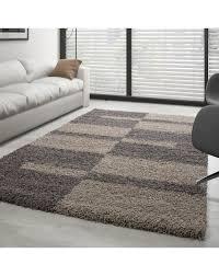shaggy 50mm florhöhe schlafzimmer wohnzimmer teppich modern