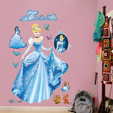 Fathead Princess Wall Decor by Fathead Disney Cinderella From Rags To Riches Wall Decal In Rags
