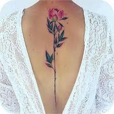Best 25 Flower Back Tattoos Ideas On Pinterest