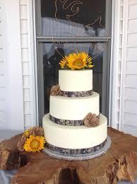 Image Of Camo Wedding Cake Ribbon