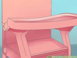 Cosco Flat Fold High Chair by How To Fold Up A Cosco High Chair With Pictures Wikihow