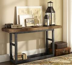 Griffin Reclaimed Wood Console Table | Pottery Barn | Living Room ... Console Tables Wonderful Reclaimed Wood Table Pottery Tivoli Barn Au Barn Molucca Media Console 62wide Coffee Emmett Table Cabinet Lovely Anyone Wanna See Our 500 The Dis Countertops Inspired Addicted Diy Very Star Clusters Bower Power Craigslist Tabless Awesome Diy This Is Just What Ive Been Looking For It Building The Hyde Overthrow Martha Tanner Long Polished Nickel Finish By